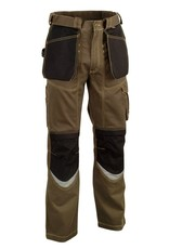 COFRA WORK PANTS COFRA BRICKLAYER MULTI POCKET BROWN