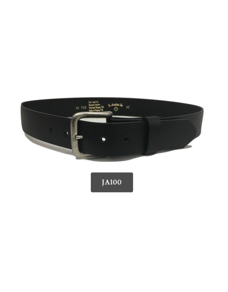 J.AUDET.JR Leather Belt Made in Canada J.Audet