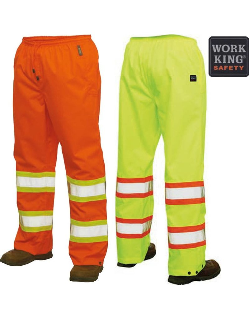 WORK KING Pantalon Impermeable Réflectif Work King