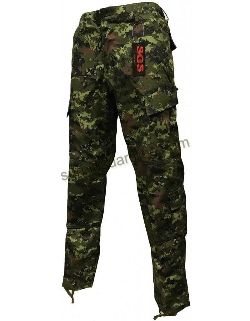 SGS Pantalon SGS Style Militaire Cadpat Rip-Stop