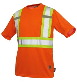 WORK KING Chandail T-Shirt Haute visibilité Réflectif Work King