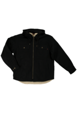 TOUGH-DUCK Chemises Doublée en Sherpa Noir Tough Duck