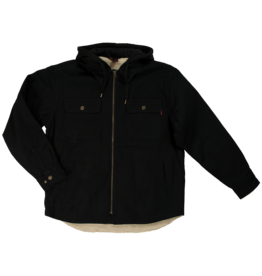 TOUGH-DUCK Sherpa Lined Duck Shirt black tough duck ws03