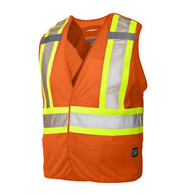 WORK KING Veste Réflectif Signaleur Fluo Work King