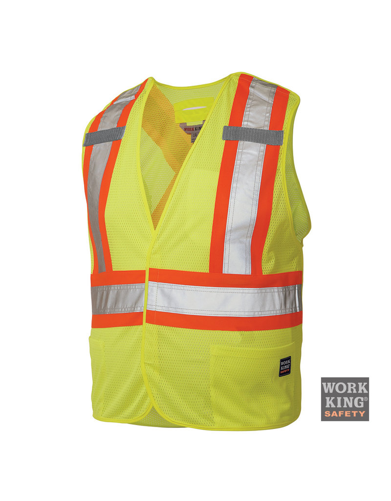 WORK KING Reflective Reflective Fluo Tough Duck Jacket