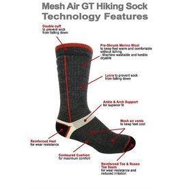 JB FIELD Merino Hiking Wool Socks J.B FIELD'S