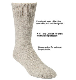 JB FIELD Icelandic Wool Socks -40 * J.B FIELD'S 8501
