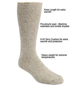 JB FIELD Icelandic Wool sock -50 * J.B FIELD'S 8565
