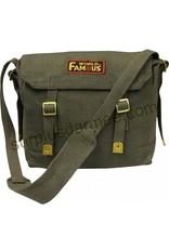 WORLD FAMOUS 100% Cotton Canvas World Famous Shoulder Bag