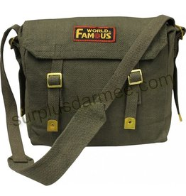 WORLF FAMOUS Sac en Bandoulière 100% Cotton Canvas World Famous