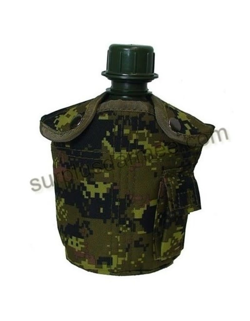 MILCOT Gourde Style Militaire Cadpat Camo
