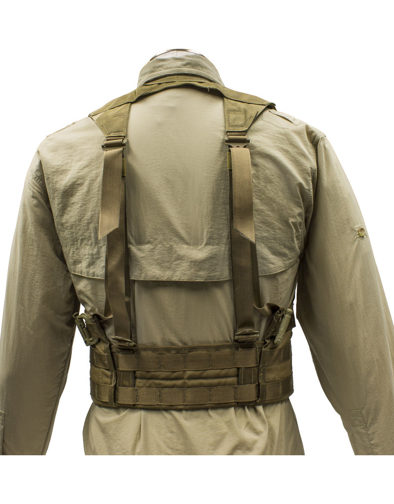 MILCOT Veste Militaire Americaine Load Bearing Usager Coyote ACU