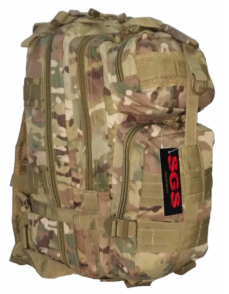 SGS Sac A Dos Style Militaire (8 Couleur) D'Assault
