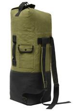 WORLD FAMOUS Poche Duffle Bag Style Militaire World Famous