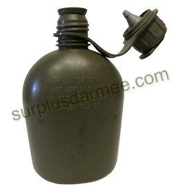 MILCOT Gourde Militaire Olive Usagé Milcot