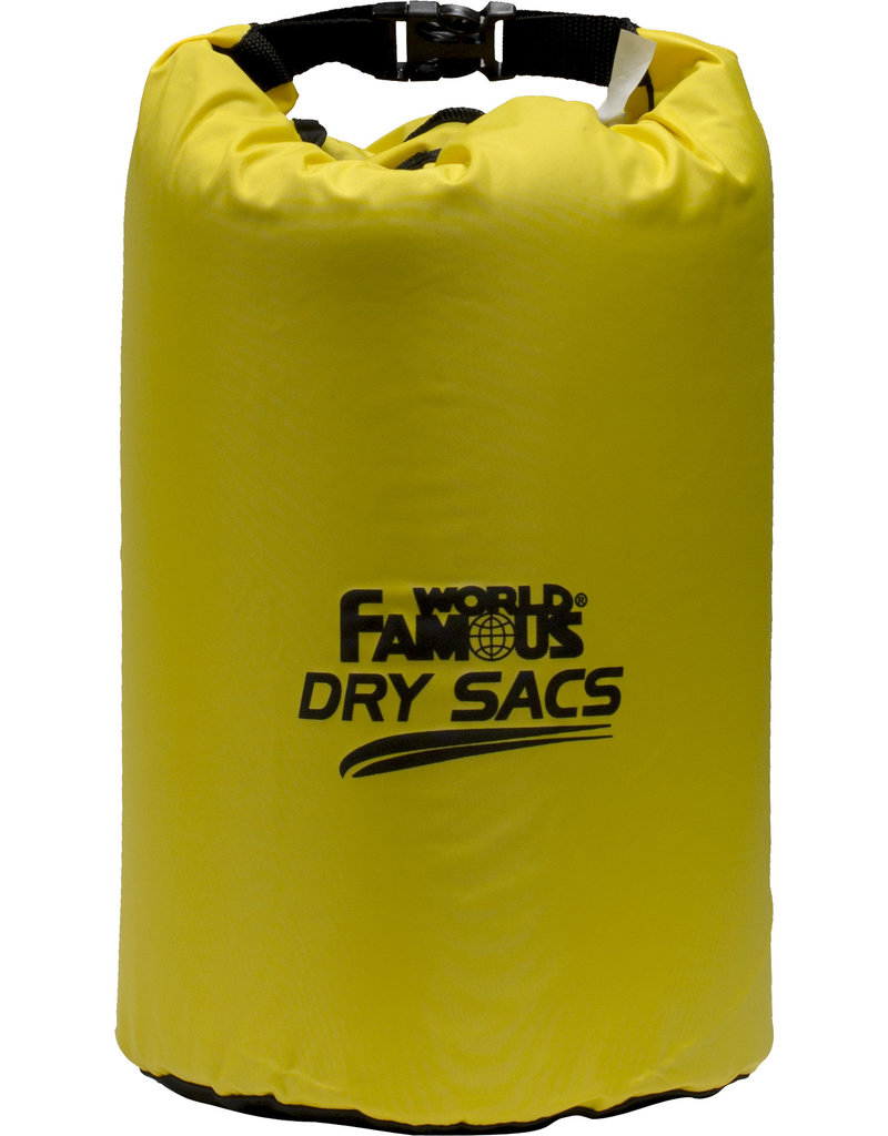 WORLD FAMOUS Waterproof Dry Sacs 20 Liters to 100 Liters World Famous