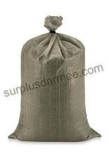 MILCOT Sandbag 18X30 Polypropylene PQT 10 Military Style