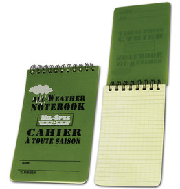 MIL SPEX NoteBook Cahier Tactical Imperméable 3X5 MIL-SPEX