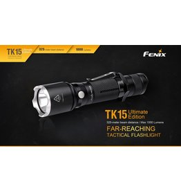FENIX Fenix TK15UE Tactical Flashlight 1000 lumens