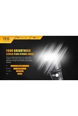 FENIX Fenix TK15UE Tactical Flashlight 1000 lumens