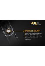 FENIX Flashlight Tactical AA Battery 320 Lumens LD-12 Fenix