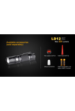 FENIX Flashlight Tactical AA Battery 320 Lumens LD-12 Fenix