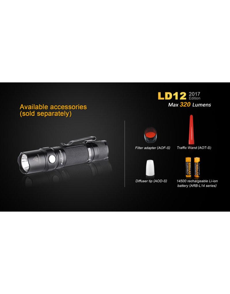 FENIX Lampe Tactical Batteries AA 320 Lumens LD-12 Fenix