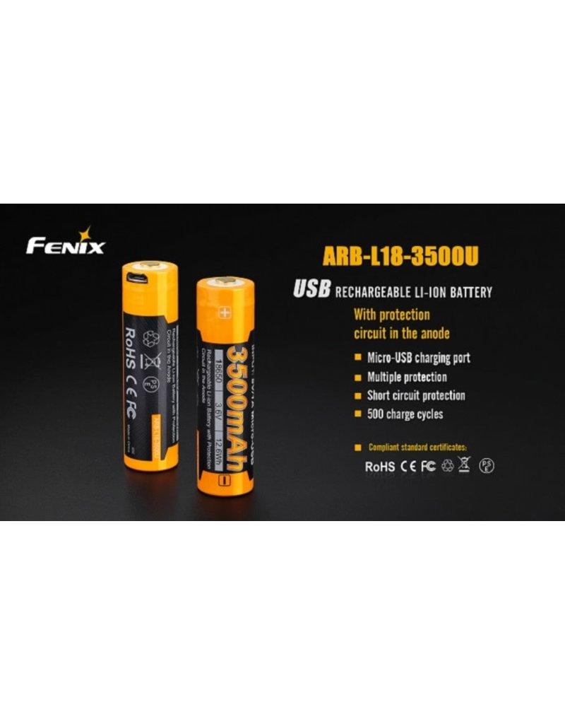 FENIX Batterie Rechargeable 18650 ARB-L18 3500U Fenix