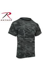 ROTHCO Rothco Camouflage T-Shirt Black 60% cotton / 40% polyester