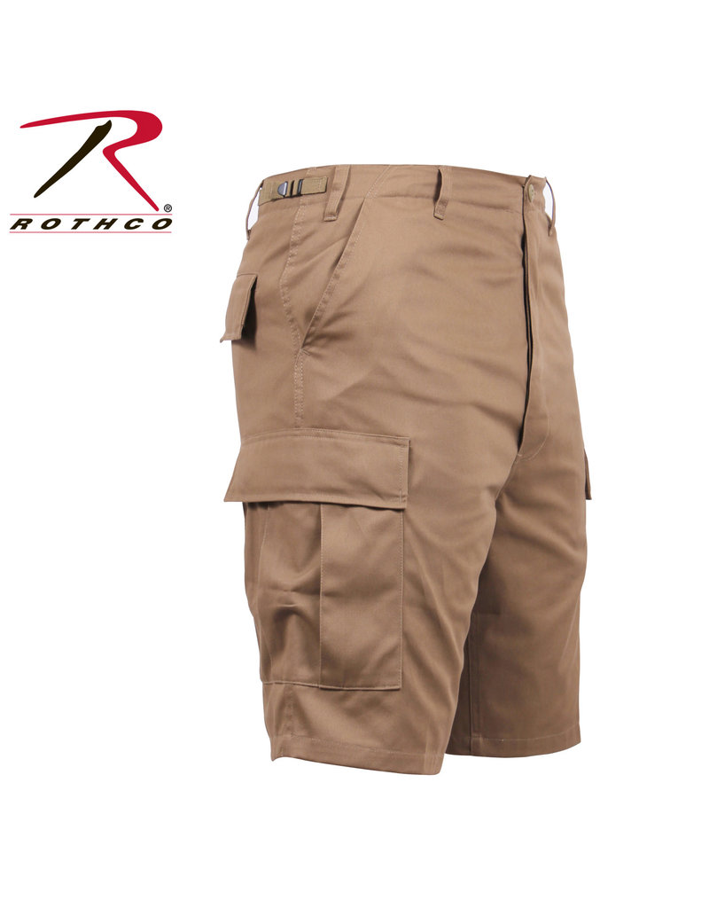 ROTHCO Bermuda Cargo Coyote Style Militaire Rothco