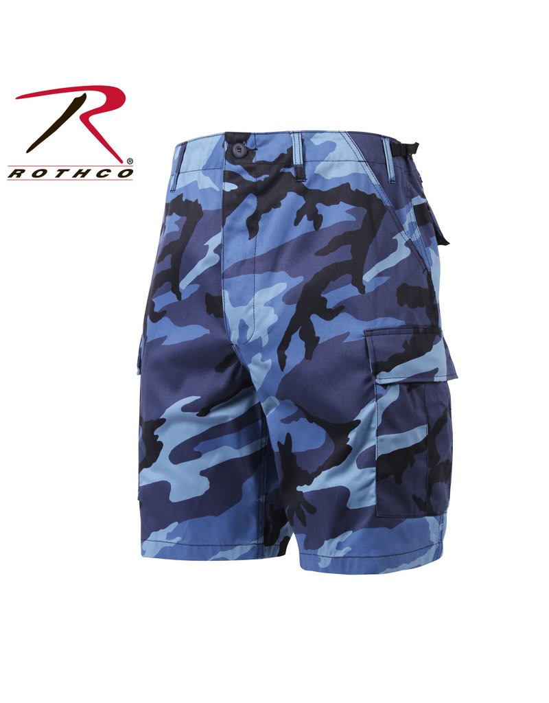 ROTHCO Navy Blue Military Camouflage Bermuda Shorts