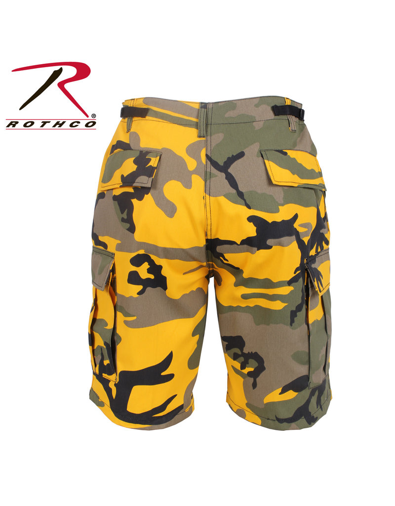 ROTHCO Bermuda Style Militaire D'Armée Camouflage Jaune Rothco