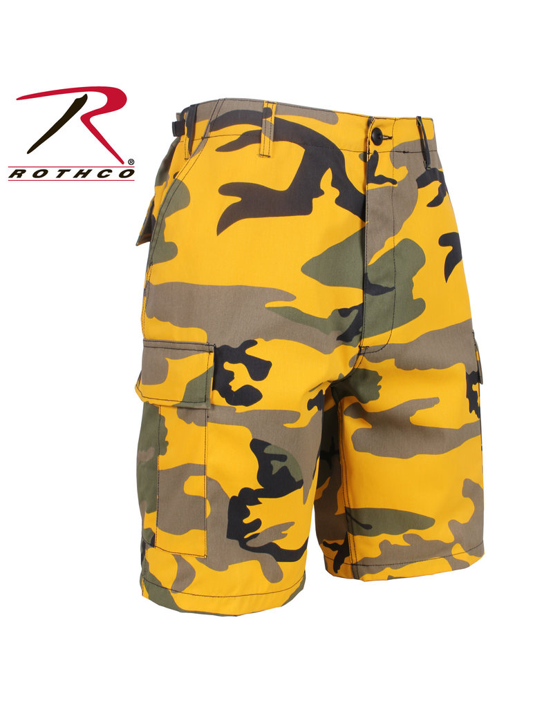 ROTHCO Army Military Style Bermuda Shorts Camouflage Yellow Rothco