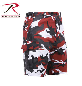 ROTHCO Bermuda Camouflage Rouge Style Militaire D'Armée Rothco