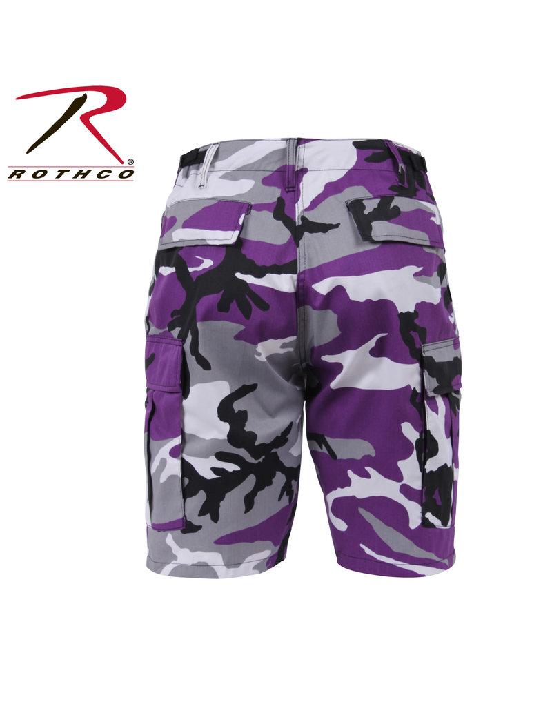 ROTHCO Purple Military Camouflage Bermuda Shorts Rothco