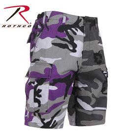 ROTHCO Bermuda Camouflage 2 Couleurs Mauve Urbain Rothco
