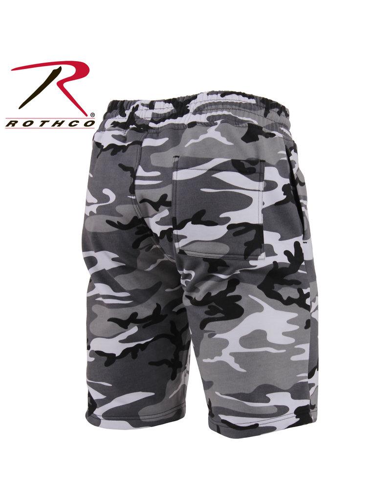ROTHCO Rothco Camo Sweat Shorts
