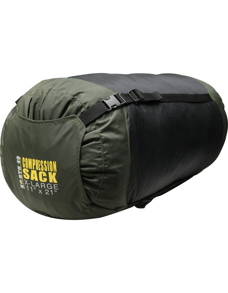 "NORTH 49 X-Large 11 ""X 21"" Compression Sacks Pocket Bag North 49"