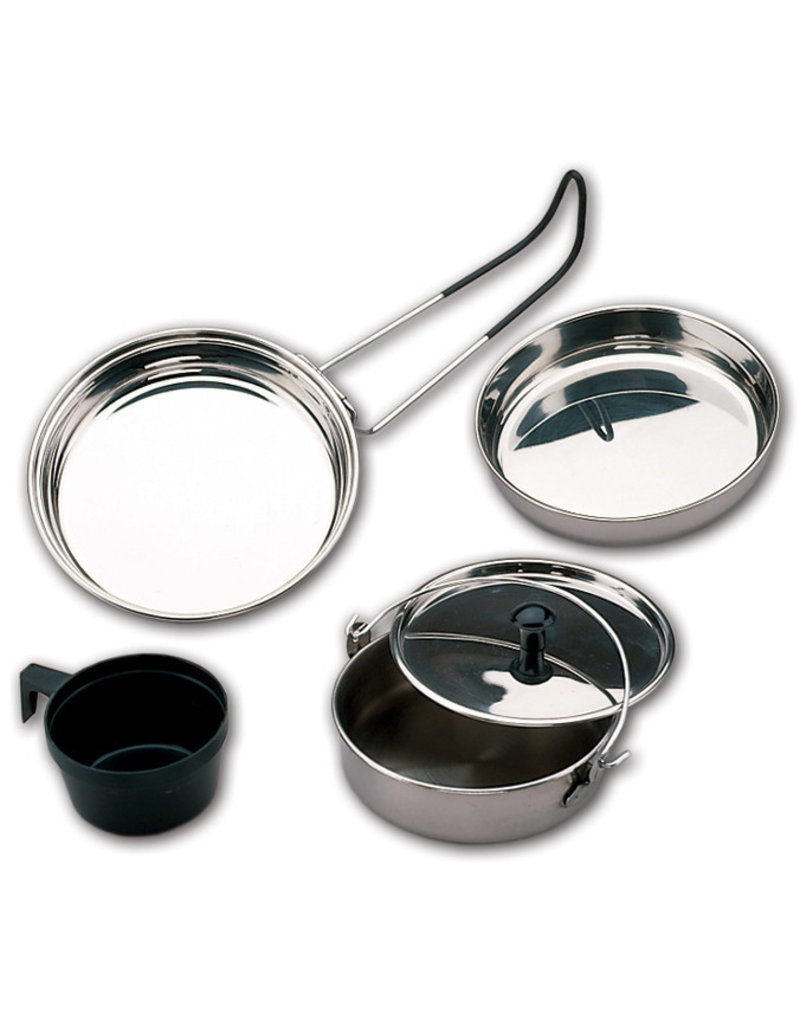 NORTH 49 Cookware CookSet Camping Stainless Steel North 49