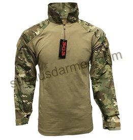 SGS Chandail de Combat Camo Multicam SGS