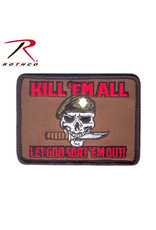 ROTHCO Rothco Kill Em All Let God Sort Em Out Morale Patch