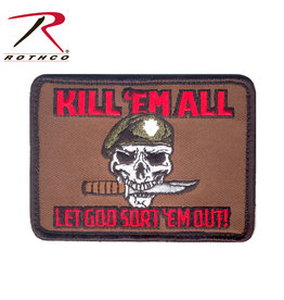 ROTHCO Patch Special Force Kill Em All Velcro