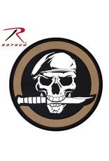 ROTHCO Rothco PVC Military Skull & Knife Morale Patch