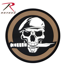ROTHCO Rothco PVC Military Skull & Knife Morale Patch