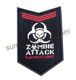 SHADOW ELITE Patch PVC Velcro Zombie Attack