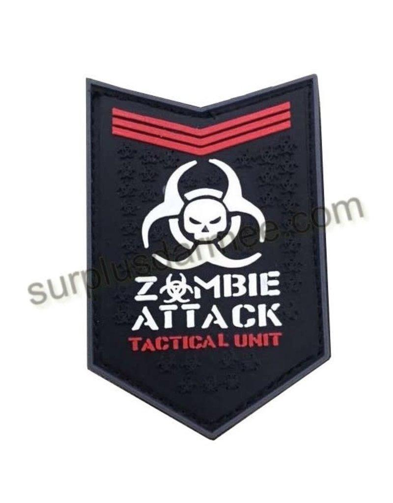 SHADOW ELITE Patch PVC Velcro Zombie Attack