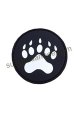 SHADOW Patch PVC Velcro Wolf