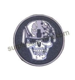 SHADOW ELITE Patch PVC Velcro Warrier Skull