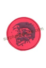 SHADOW Patch PVC Velcro Stunning Rouge