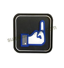 SHADOW Patch PVC Velcro Dislike (finger)